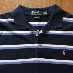 Mens Polo Short Sleeve Knit Shirt